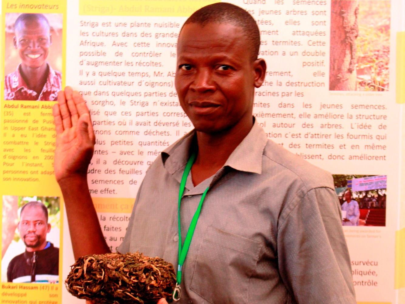 Abdul Ramani Abbielli: Zwiebelpulver gegen Unkraut