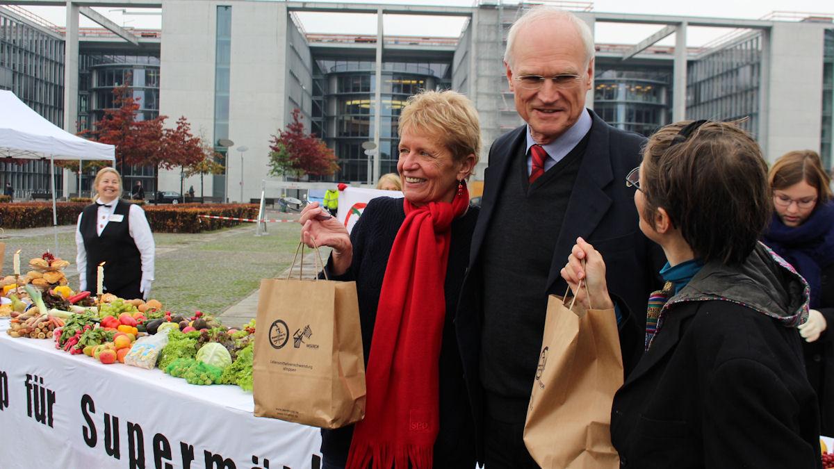 Ulli Nissen, SPD und Lothar Binding, SPD