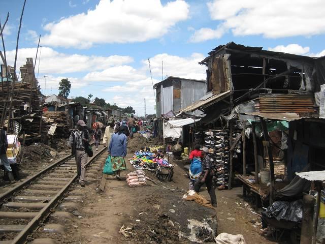 Leben im Slum: Nairobi