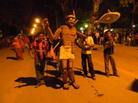 Karnevalsumzug in Norden Argentiniens