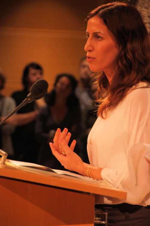 "Dana Golan, Direktorin von ""Breaking the Silence""."