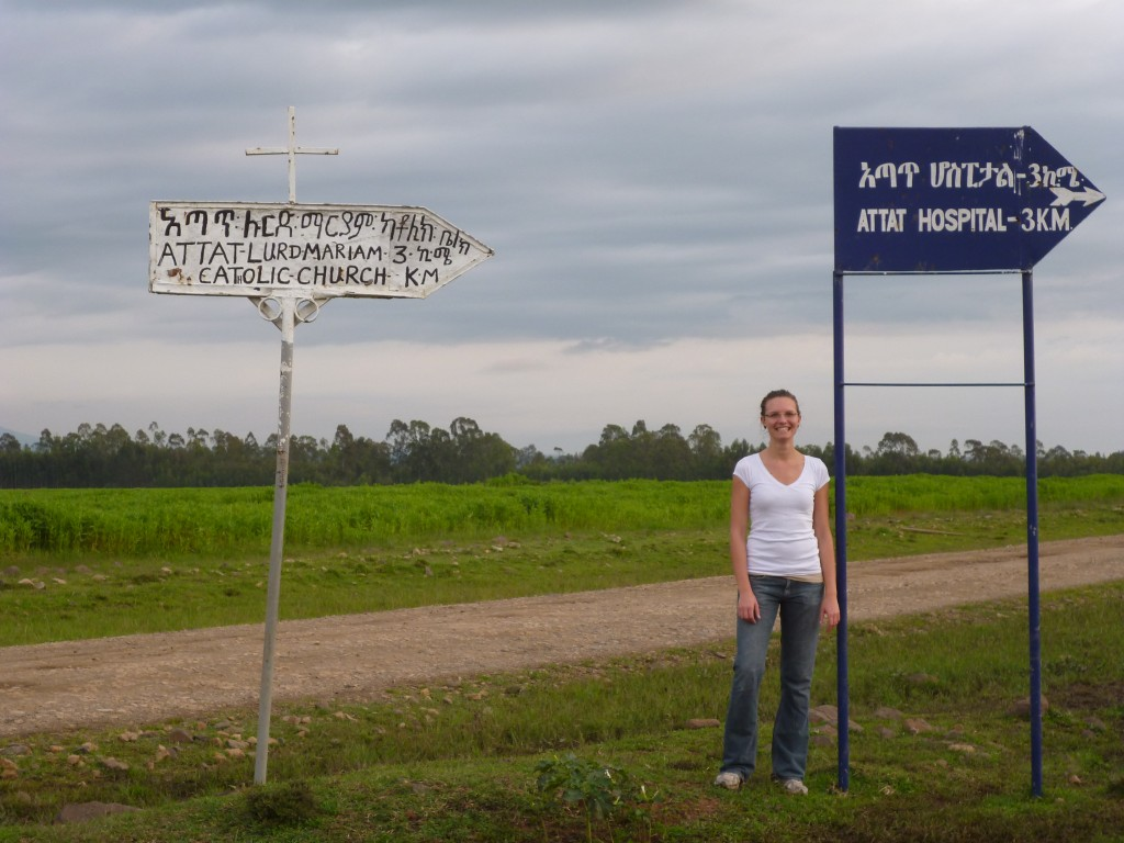 Wenige Kilometer vor Attat