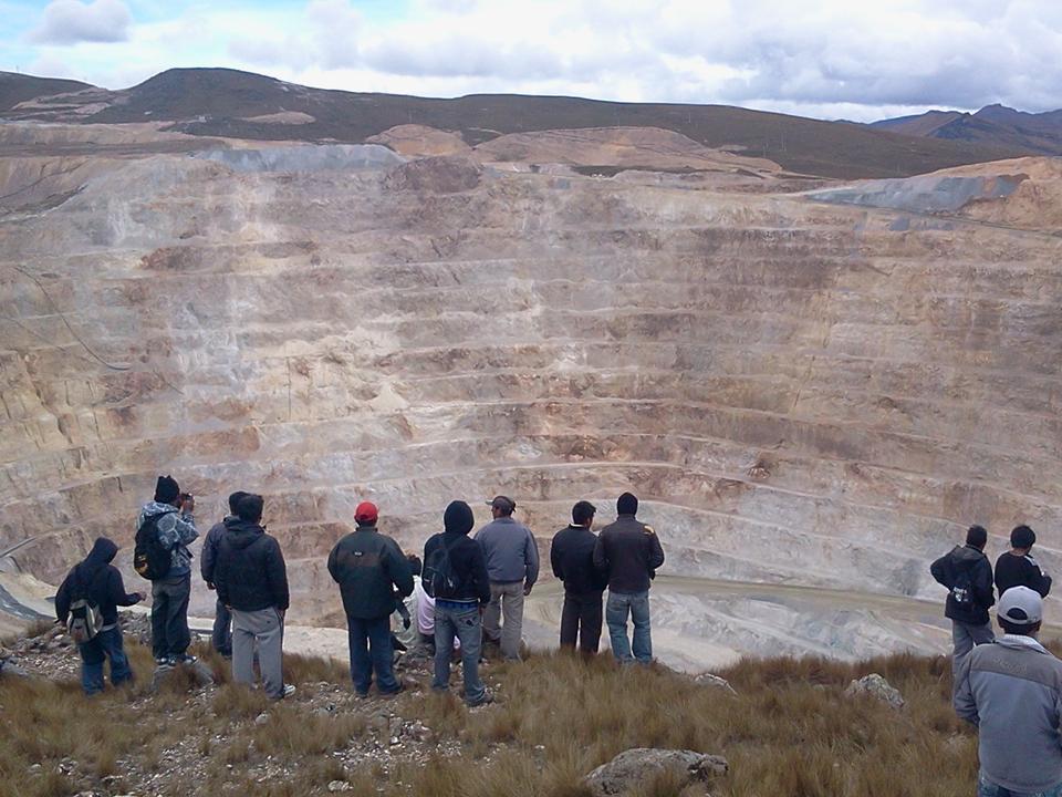 Blick in die Mine