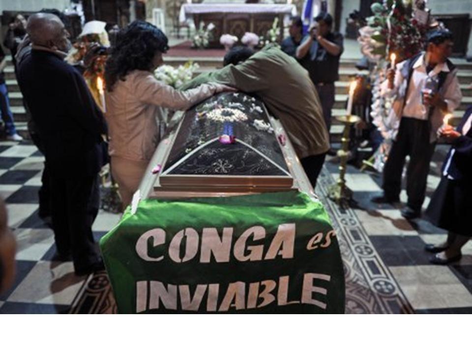 Conga inviable