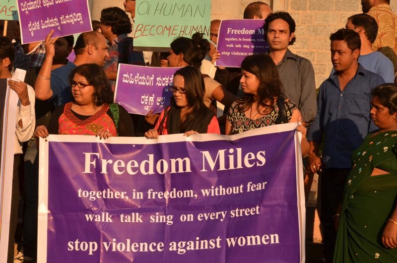 Proteste in Bangalore © JimAnkan Deka via Wikimedia Commons
