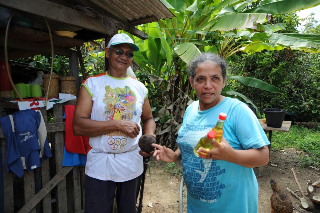 Jose Claudio und seine Frau Dona Maria lebten als Öko-Bauern im brasilianischen Nova Ipaxuna © Meissner/MISEREOR
