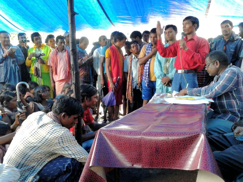 Zweiter Palli Sabah in Kesarpadi. Foto: Living Farm.
