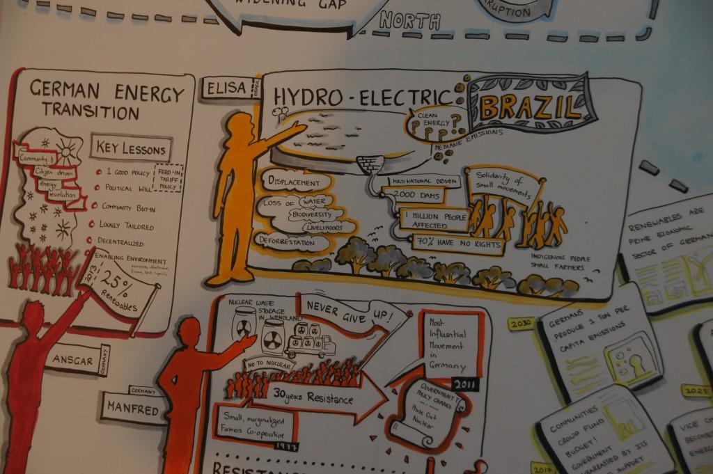 Wie stellen sich Vertreter von MISEREOR-Partnerorganisationen ege hin zu einer gerechten und klimafreundlichen Energieversorgung konkret vor?