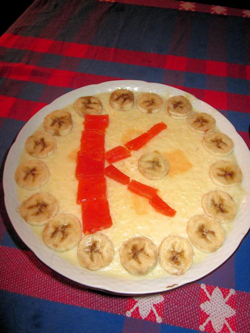 """Pakistanischer Reiskuchen für """"Teacher Katha"""""""