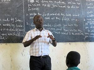 Schule im Südsudan