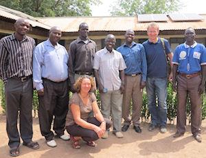 MISEREOR-Reisegruppe Südsudan