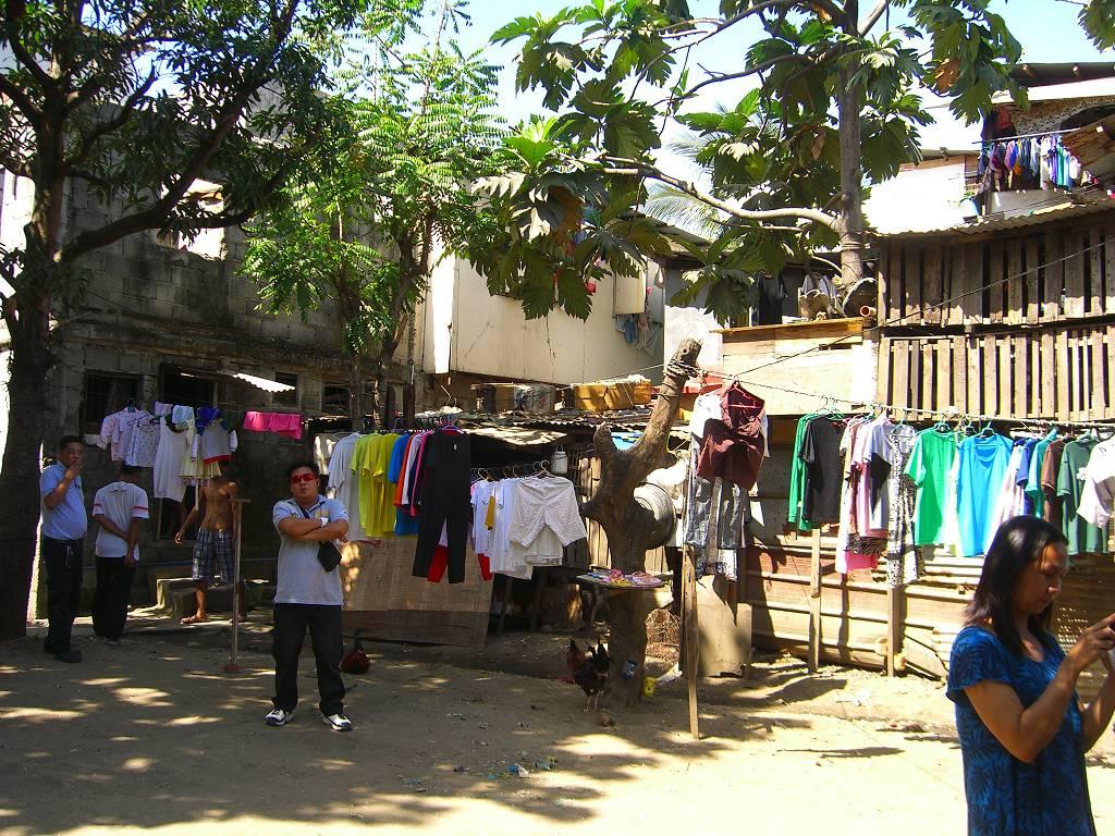 4.4 Millionen Menschen im Großraum Manila leben in Elendsvierteln.