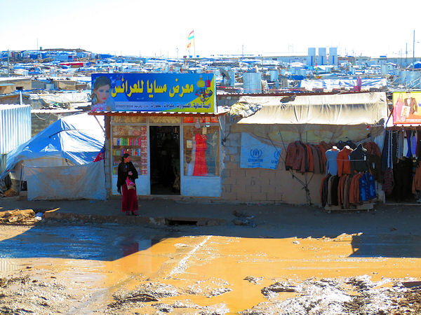 Im Flüchtlingslager Domiz im Nordirak.