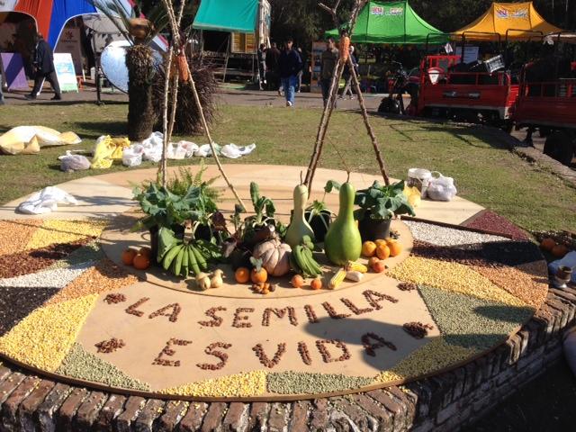 Motto des Treffens: Die Saat ist das Leben