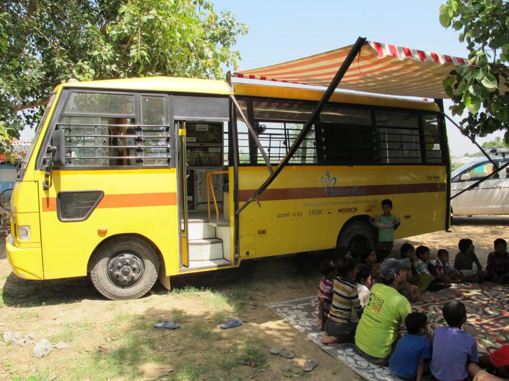 """Der Bus der """"Mobile Education"""""""