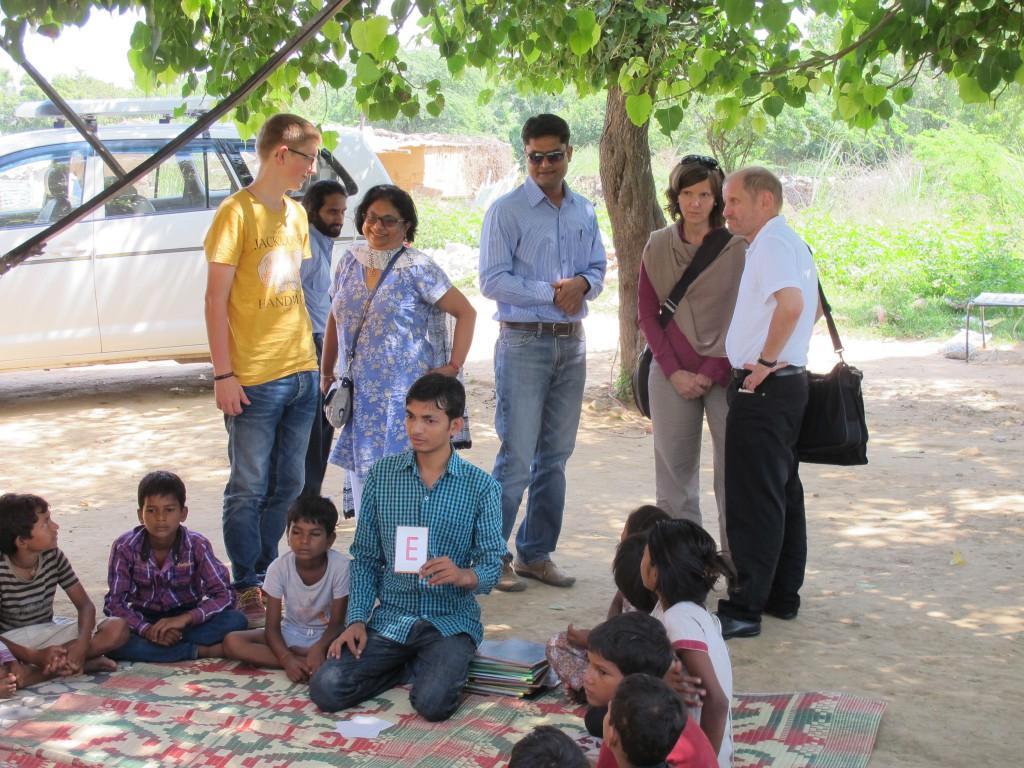 Kinder beim Nala Camp