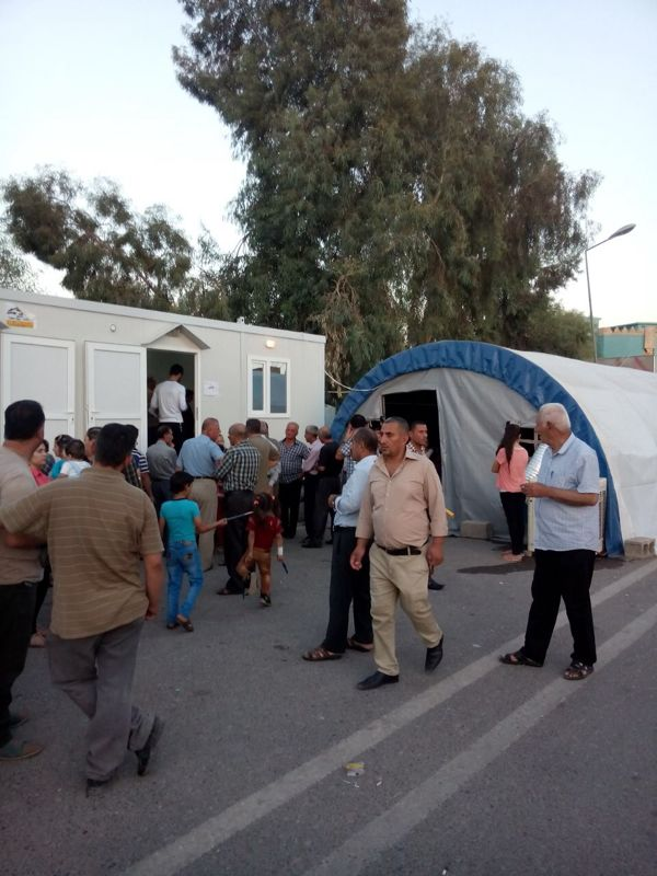 Im Flüchtlingscamp in Erbil 1
