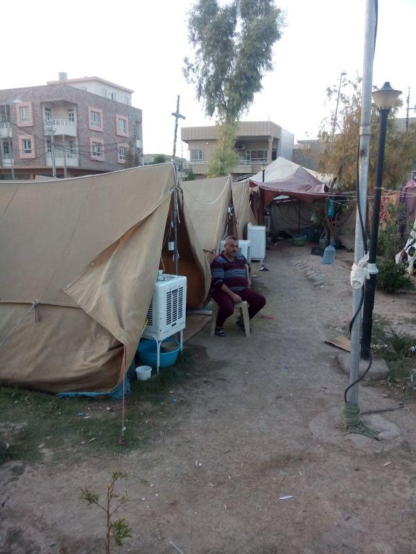 Im Flüchtlingscamp in Erbil 3