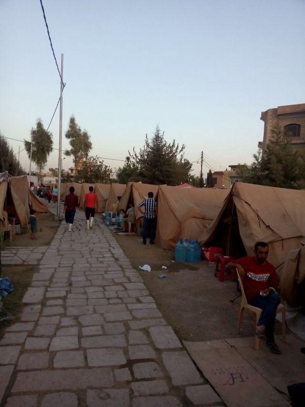 Im Flüchtlingscamp in Erbil