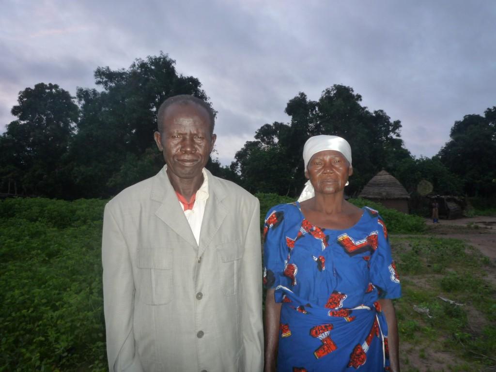 Célestin Ndoringué, Jugendbildner und Landwirt in Monkara
