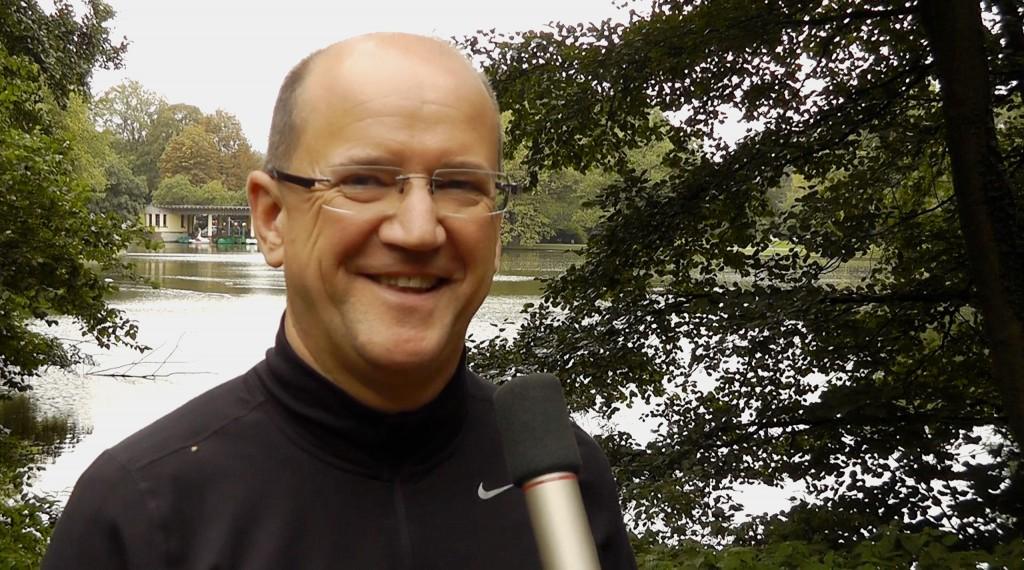 Rolf Giesen startet beim New York Marathon