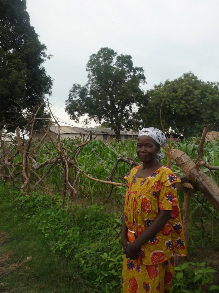 Madame Bekaiuyougoto Yamta Alhéré, Leiterin der seit 1992 verstaatlichten Landwirtschaftsschule