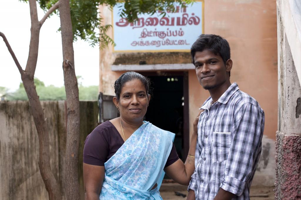 Soziale Arbeit des katholischen DMI-Ordens (Daughters of Mary Immaculate) in Nagapattinam, Tamil Nadu