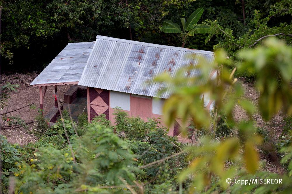 """""""Misereor-Haus"""", Riviere Froide, Haiti; Foto: Florian Kopp / Misereor"""