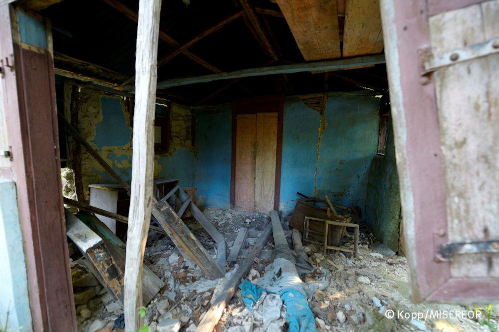 Viele Häuser hielten dem Beben 2010 nicht stand – und begruben tausende Menschen unter Trümmern_Florian Kopp