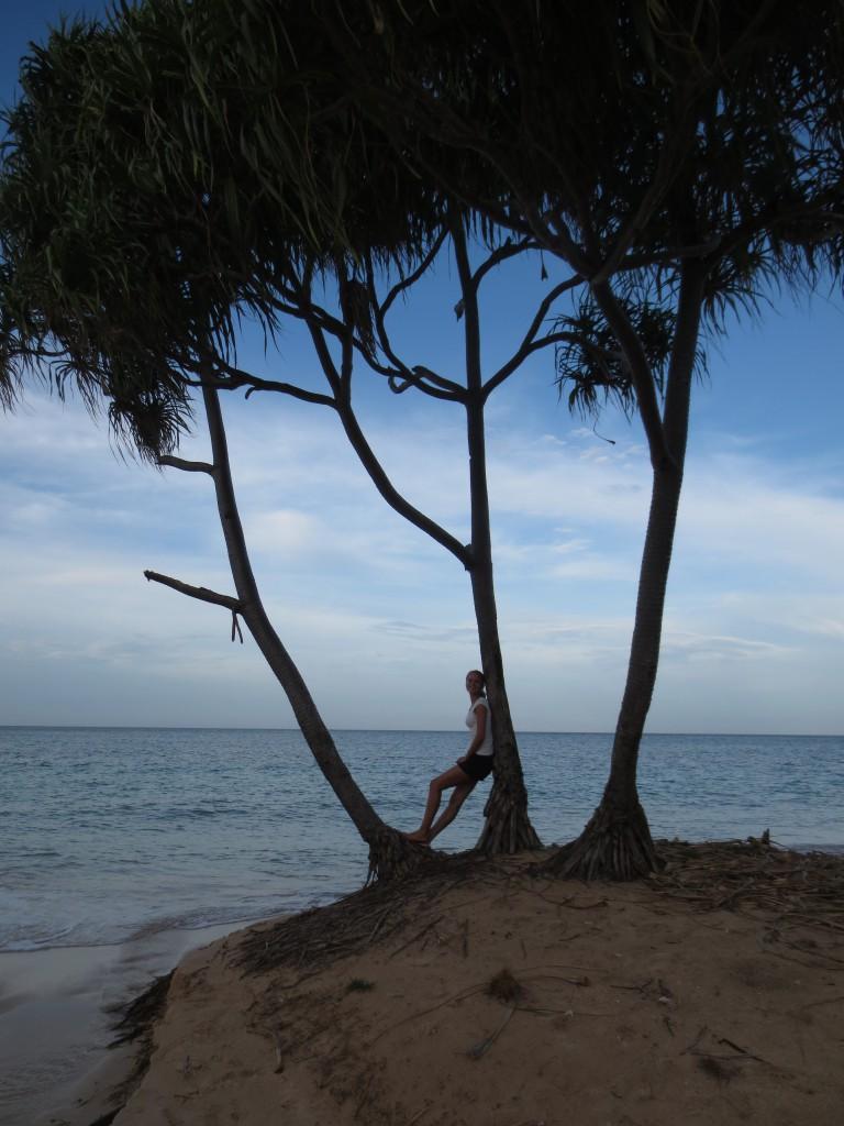 Nichts tun - hier: am Strand von Baucau