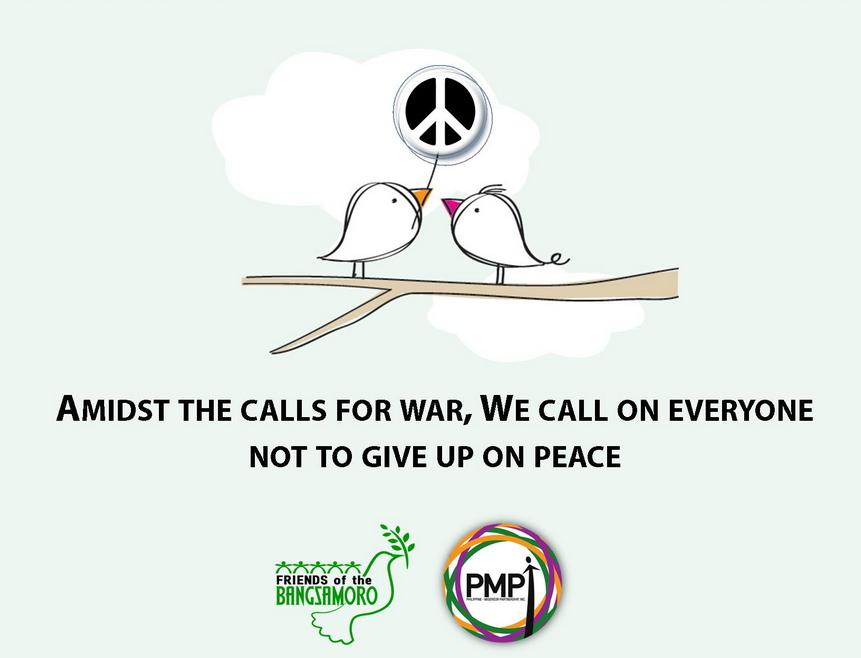 Mit vielen anderen setzt sich die MISEREOR-Partnerorganisation PMPI für Frieden ein. Foto: PMPI