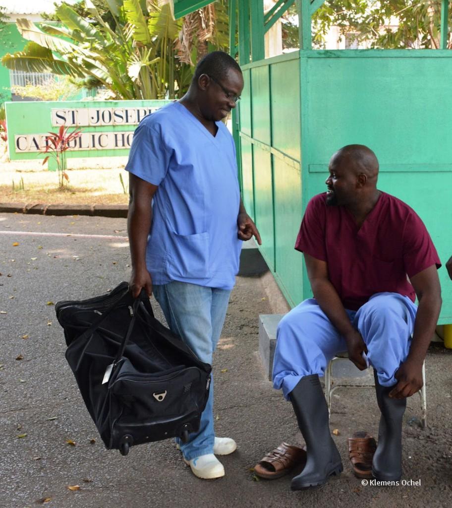 Mitarbeiter Saint Joseph Hospital Monrovia_Liberia_2015_c Klemens Ochel (2)