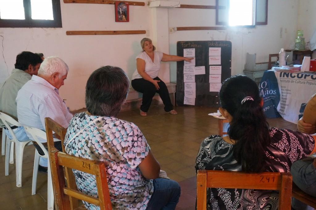 Während des Workshops zum Thema Rotationsfonds