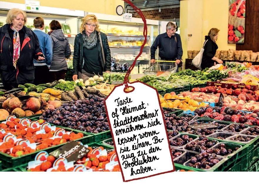 Stadtbewohner ernähren sich besser, wenn sie einen Bezug zu den Produkten haben - _ Marco Bräunig