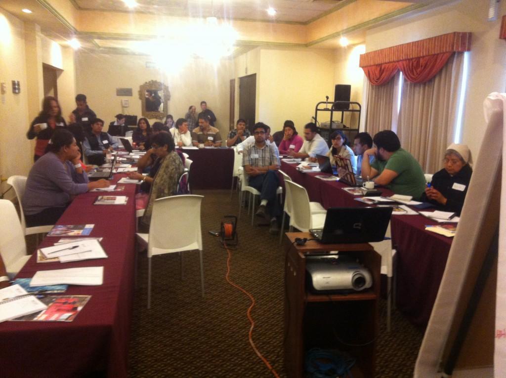 Workshop ONU & Centro Prodh: Registrierung und Dokumentation von Migranten. 18-20 Februar 2015
