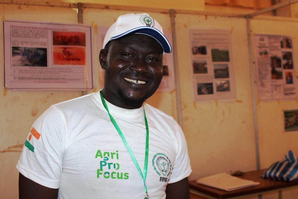 Mahamane Lawali Boubé erfand die Motorradpflugmaschine