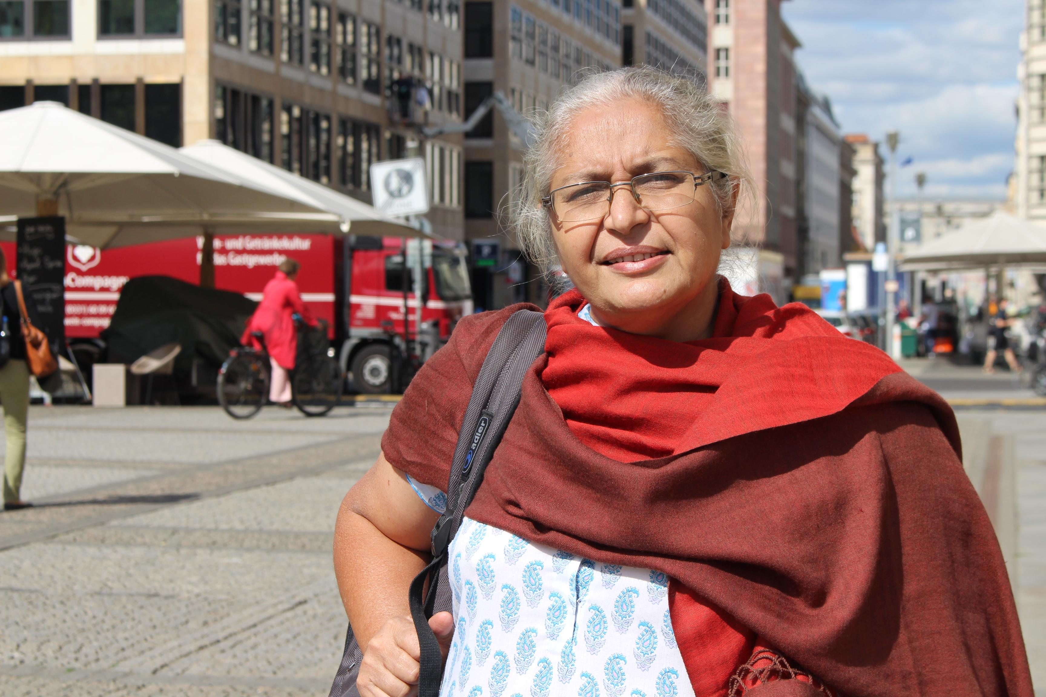 Anuradha Talwar (56), studierte Wirtschaftwissenschaftlerin und Sozialarbeiterin
