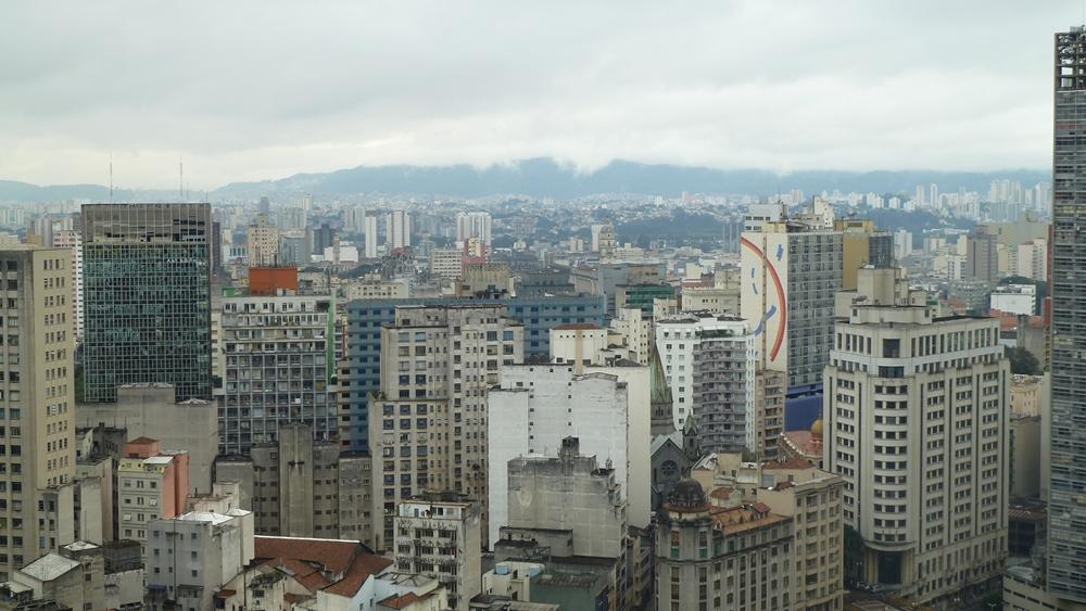 Blick über Sao PauloBlick über Sao Paulo