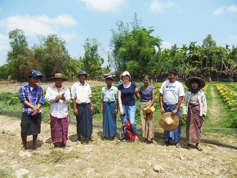 Treffen mit lokalen Reisbauern_ Ayayarwady Delta