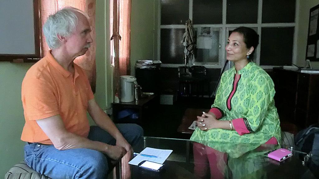 91 Interview mit Direktorin LUMANTI, Lajana Manandhar