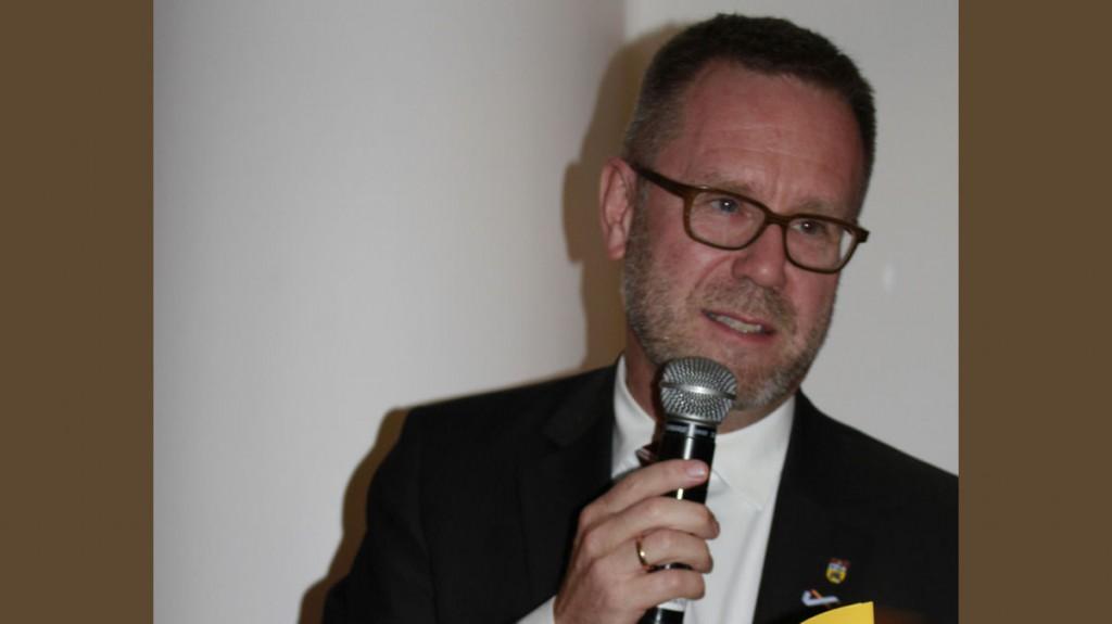 Reinhard Nauman, Berliner Bezirksbürgermeister von Charlottenburg Wilmersdorf