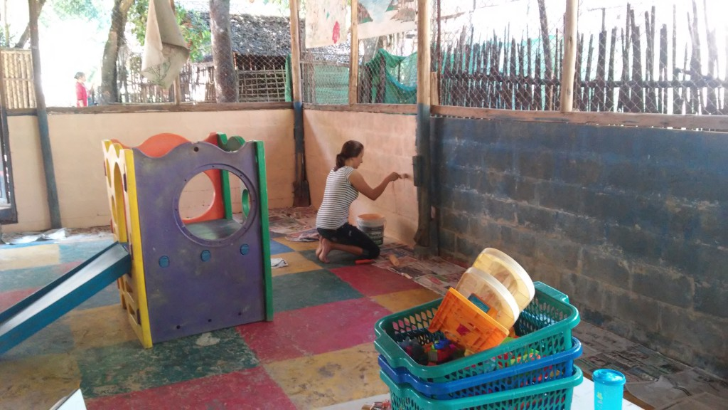 das CFS im Mae la Ma Luang Camp