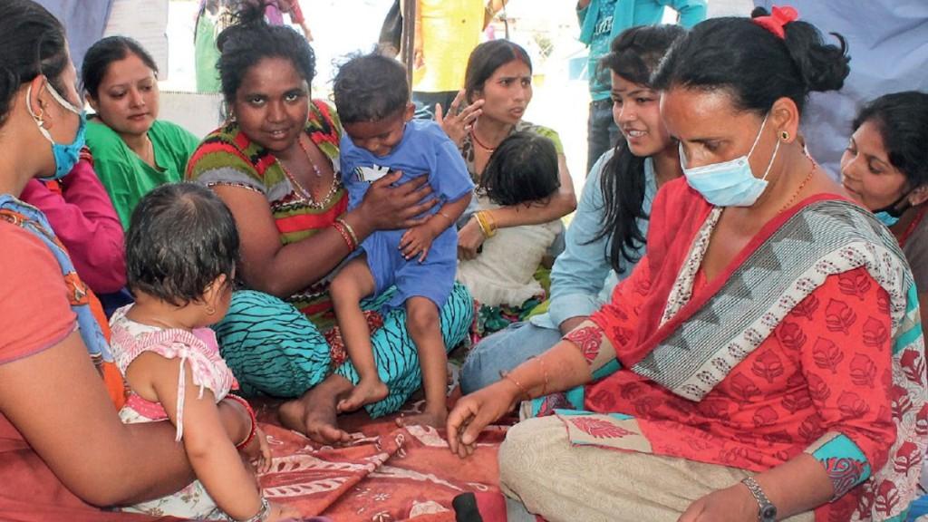 Nepal_Frauengruppe