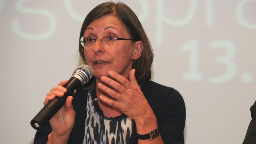 Dr. Sabine Dorlöchter-Sulser (MISEREOR, Referentin für ländliche Entwicklung) © Thomas Kuller/MISEREOR
