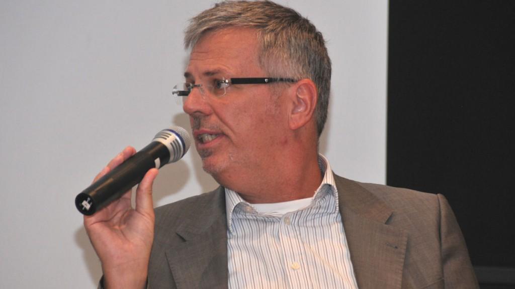 Dr. Martin Märkel (Bayer CropScience, Senior Sustainable Development Manager) © Thomas Kuller/MISEREOR