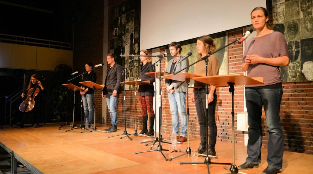 Asyldialoge-Bühne
