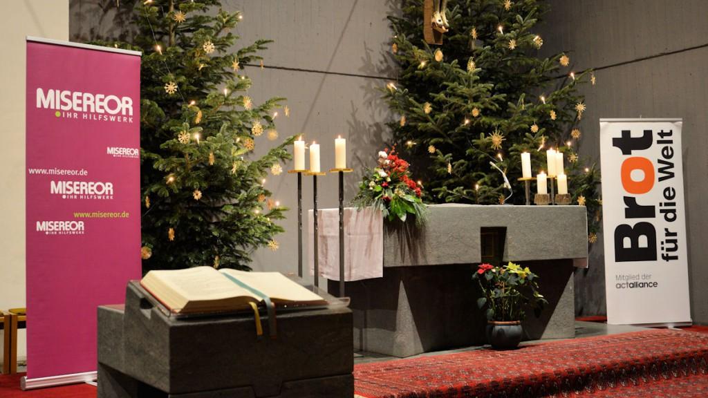 Der Neujahrsgottesdienst fand dieses Jahr in St. Winfried in Bonn statt © Thomas Kuller/MISEREOR