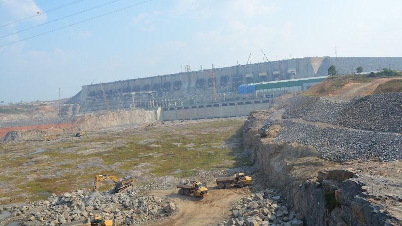 Der Belo Monte Staudamm im Dezember 2015