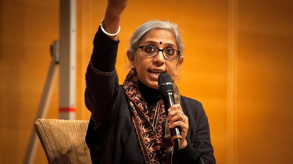 Dr. Sagari Ramdas auf dem MISEREOR Jahresempfang 2015 © Jakob Huber