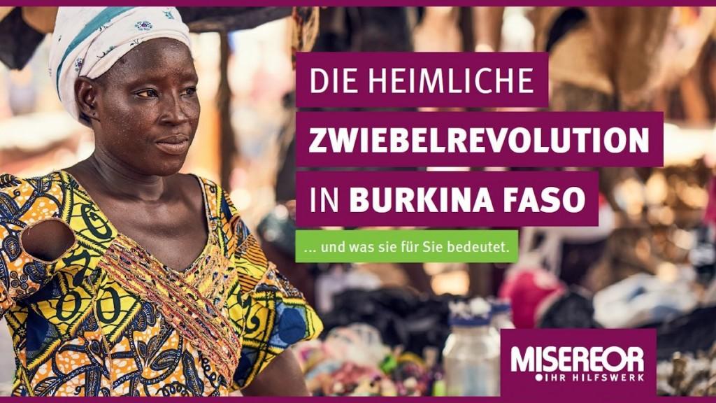 Die heimliche Zwiebelrevolution in Burkina Faso